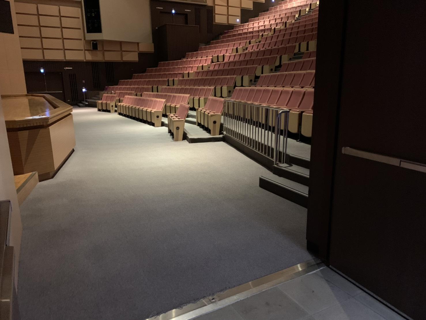 演藝廳無障礙觀眾席位