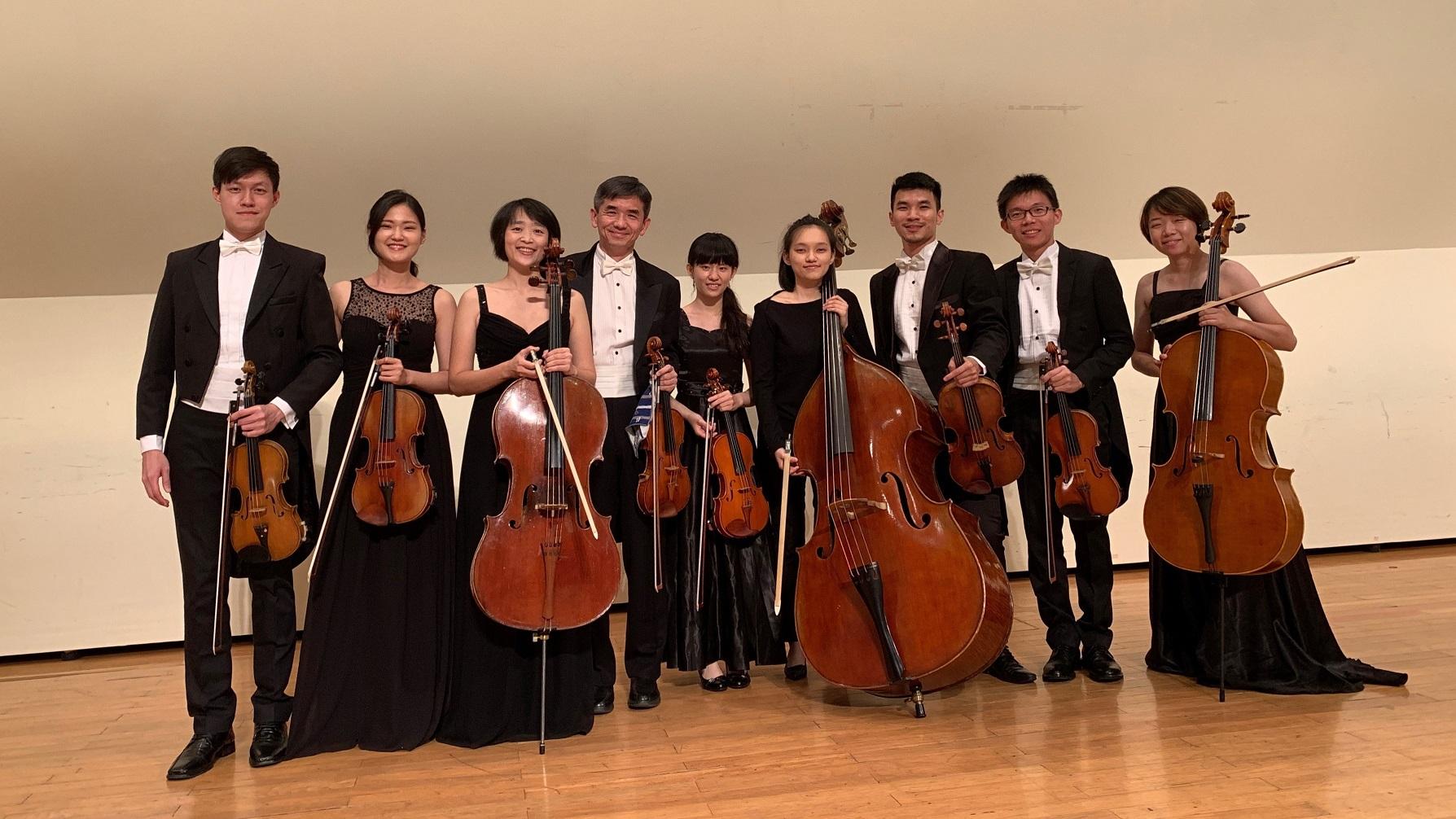 12月15日(日)15:00巴赫納利亞台灣室內樂團《2019巴赫納利亞.台灣 冬季音樂會》