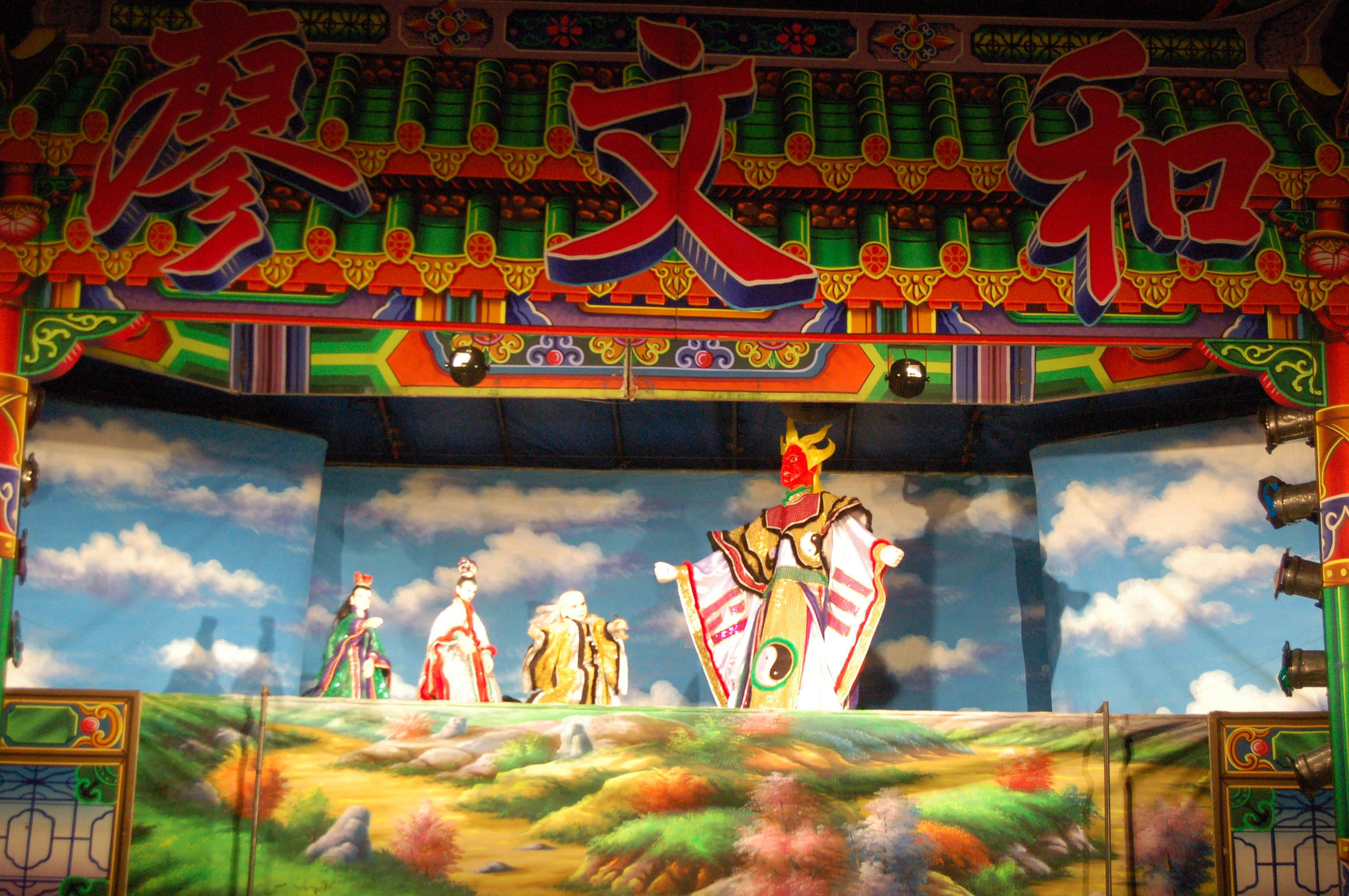 「臺灣之光」廖文和布袋戲《龍星俠義》世界首演在新北