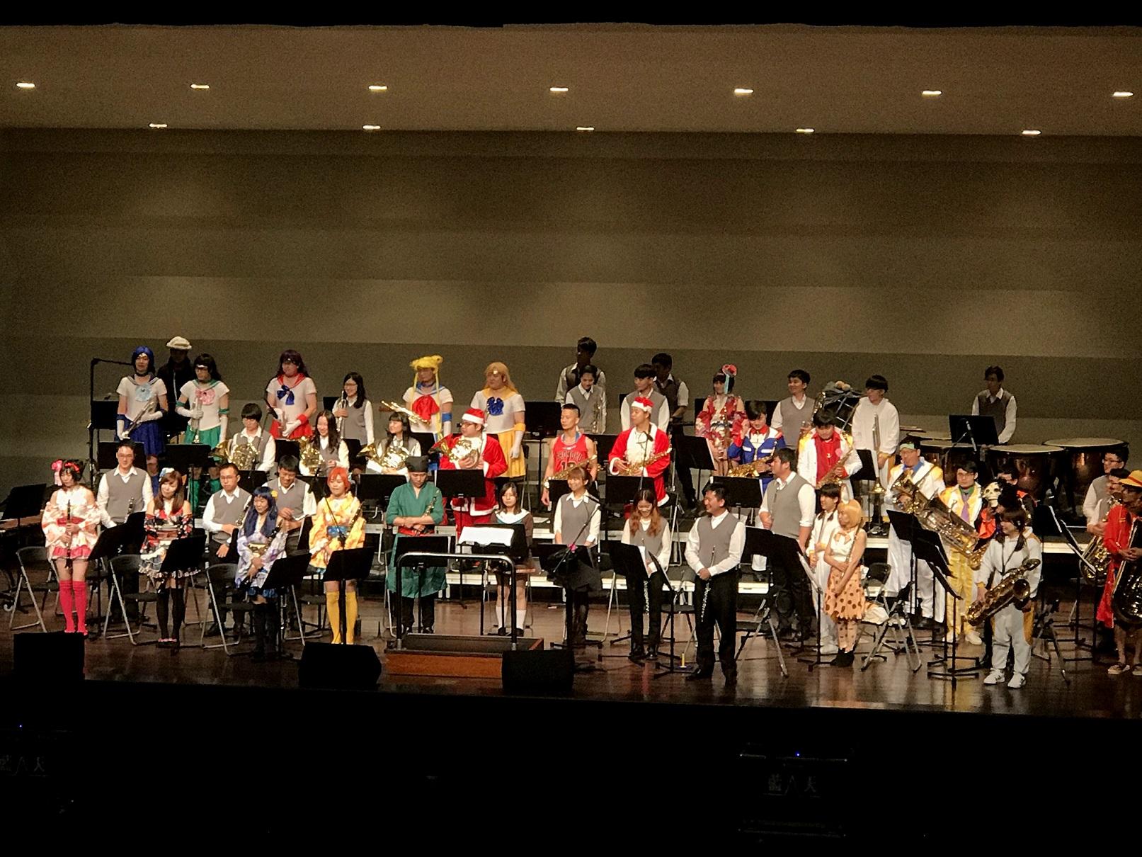 12月15日(二)星空交響管樂團《狂樂動漫魂》