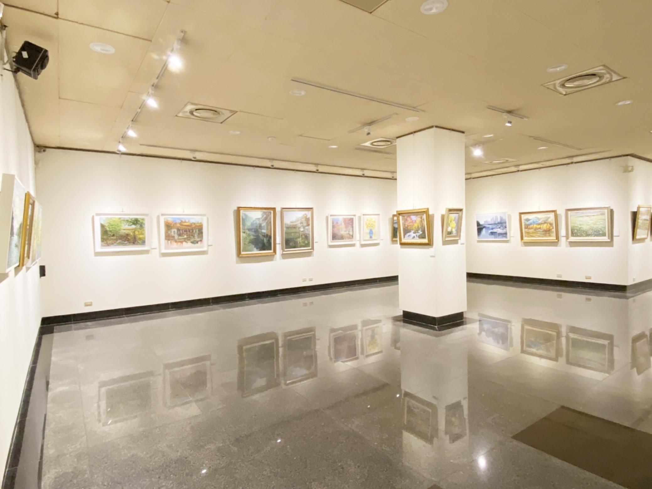 有限媒材無限想像 「中華民國跨世紀油畫研究會」年度大展開跑