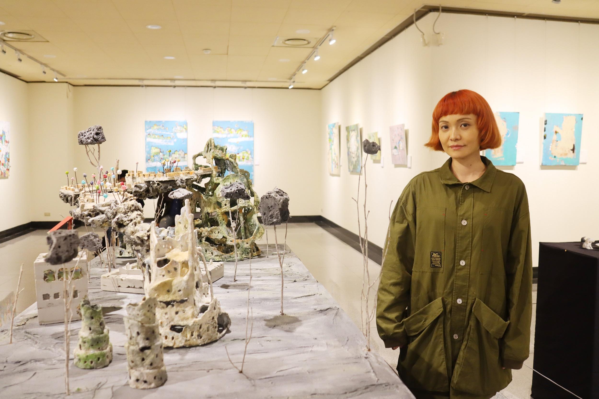 跨領域從零開始的藝術家 寧芮潔與顏蘇禎開啟人生副本