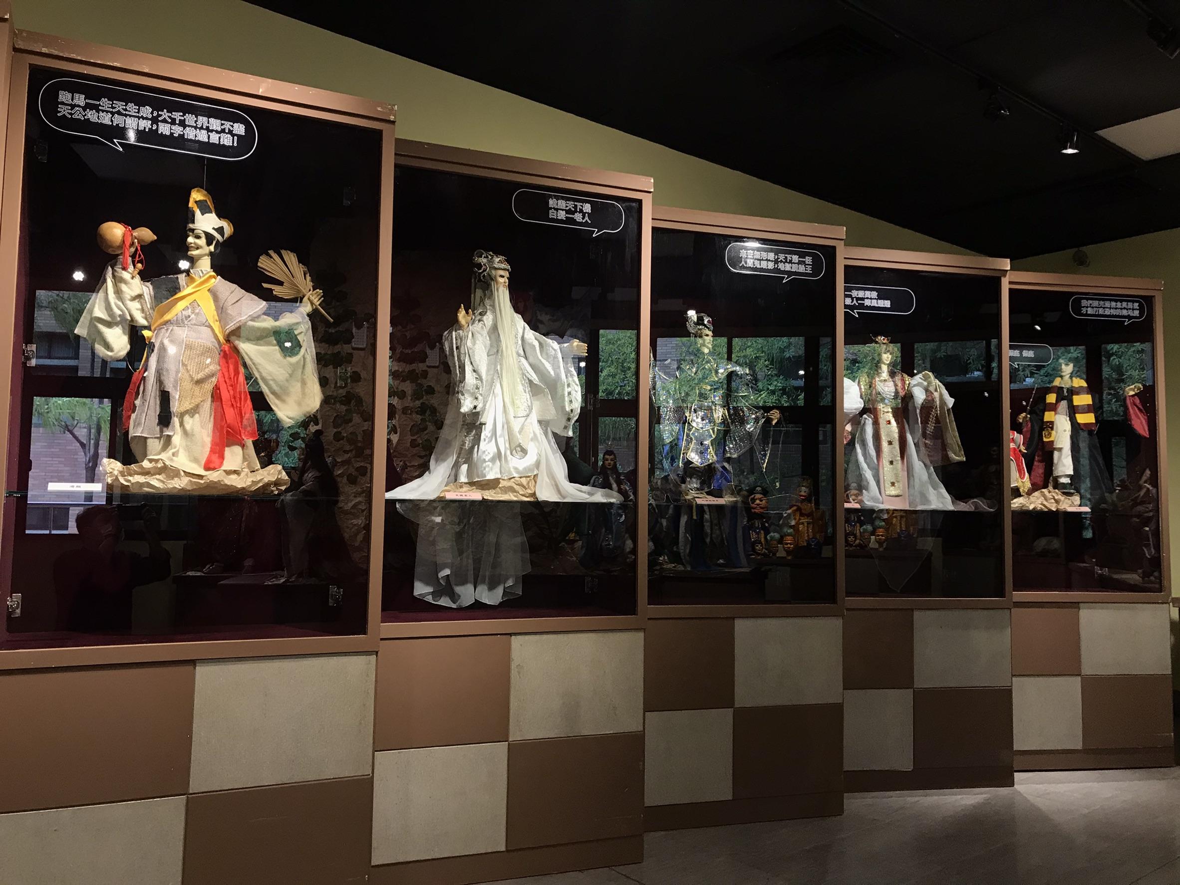 新莊布袋戲文物館全新換檔 蘇俊穎木偶劇團十週年特展